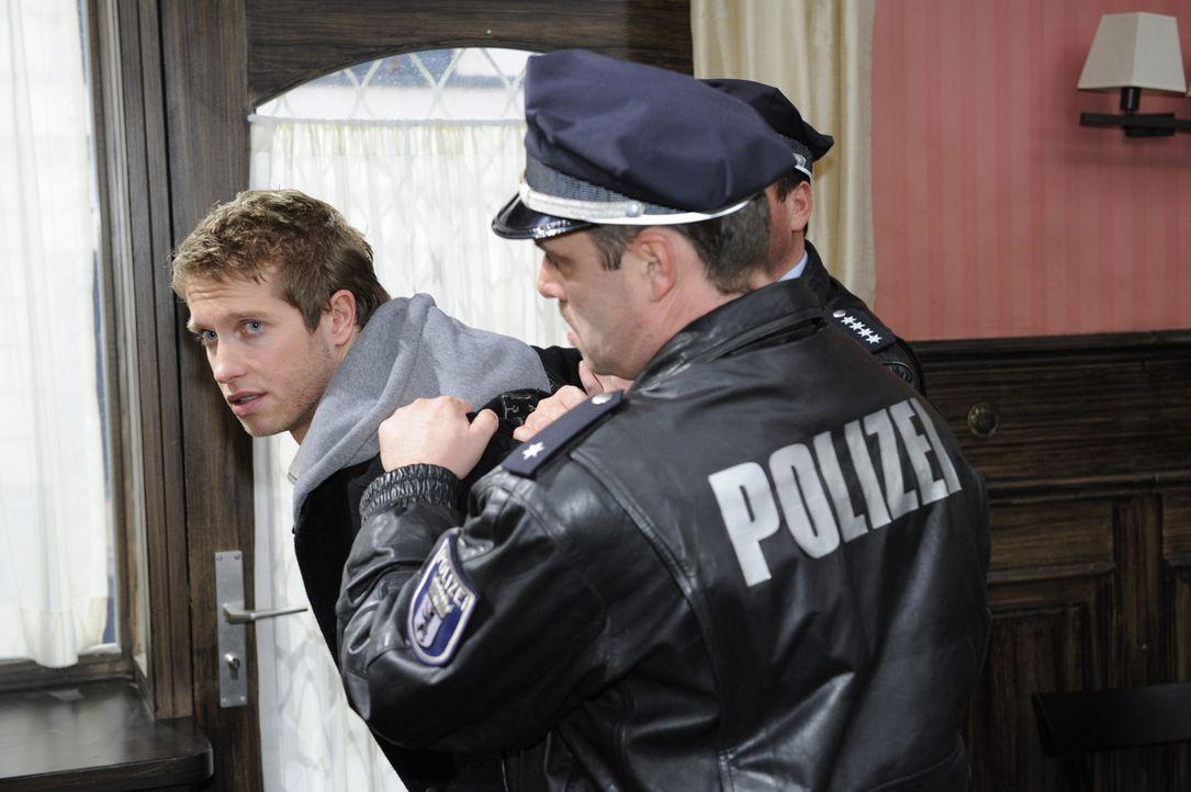 Selbst Mia wird nach dem Fund der Uhr bei Jojo (Bernhard Bozian, l.) misstrauisch ... - Bildquelle: SAT.1