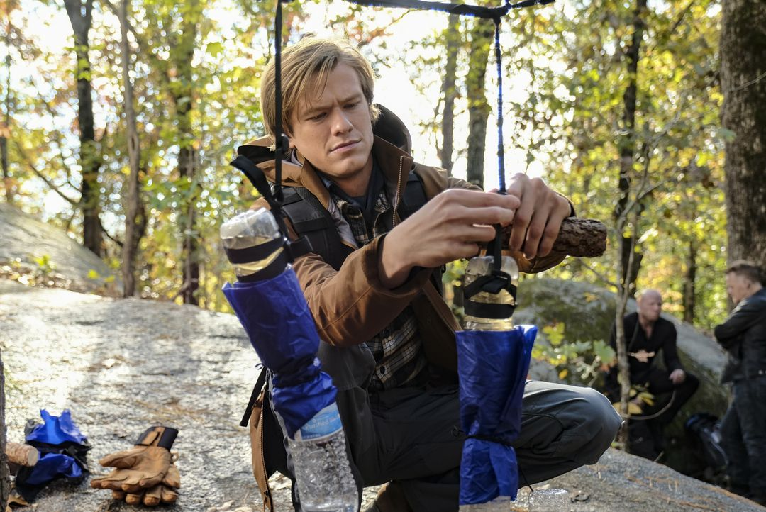 MacGyver (Lucas Till) - Bildquelle: Guy D'Alema 2018 CBS Broadcasting, Inc. All Rights Reserved