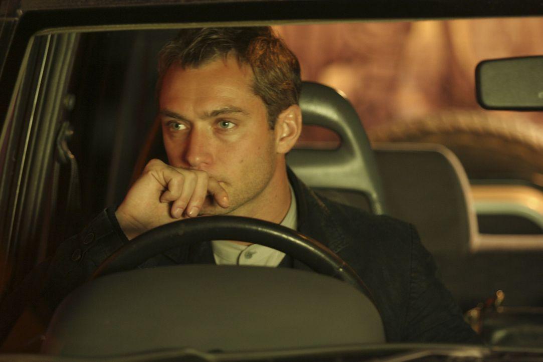 Nach und nach gerät sein Leben völlig aus den Fugen: Will (Jude Law) ... - Bildquelle: Miramax Films.  All Rights Reserved.
