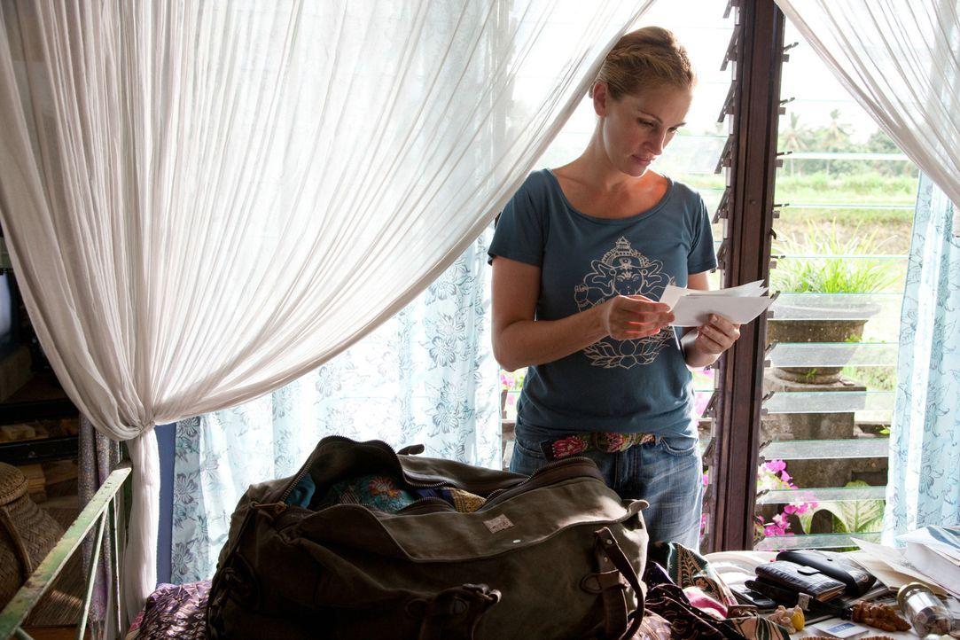 Als ihre Ehe geschieden wird, steht Liz (Julia Roberts) plötzlich an einem Scheideweg: Sie beschließt, alles zu riskieren und ihr altes, wohlgeord... - Bildquelle: 2010 Columbia Pictures Industries, Inc. All Rights Reserved.
