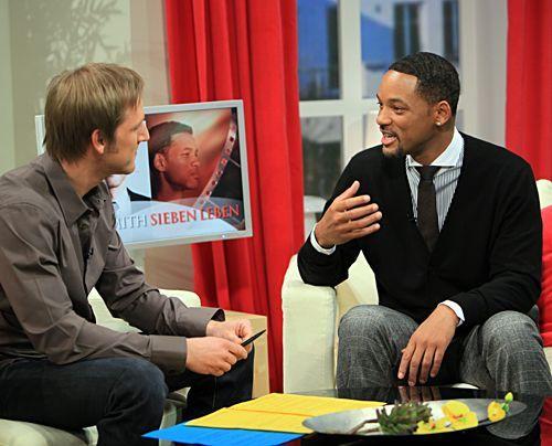 Bildergalerie Will Smith im Studio | Frühstücksfernsehen | Ratgeber & Magazine - Bildquelle: Ingo Gauss - Sat1