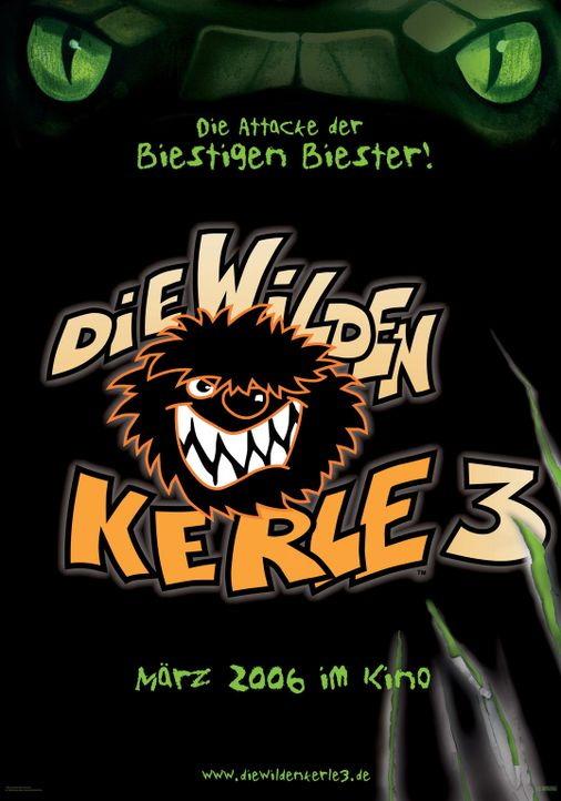 Die wilden Kerle 3 - Plakatmotiv - Bildquelle: Buena Vista International. All rights reserved