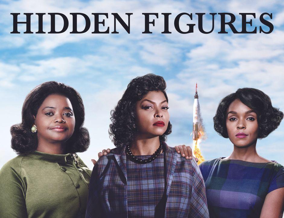 Hidden Figures - Unerkannte Heldinnen - Artwork - Bildquelle: 2016 Twentieth Century Fox Film Corporation.  All rights reserved.