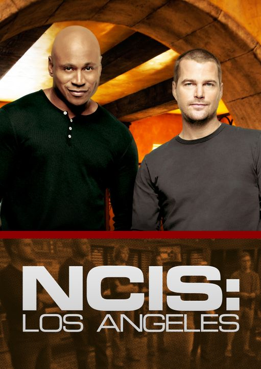 (5. Staffel) - Navy CIS: L.A.: Special Agent G. Callen (Chris O'Donnell, r.) und Special Agent Sam Hanna (LL Cool J, l.) ... - Bildquelle: CBS Studios Inc. All Rights Reserved.