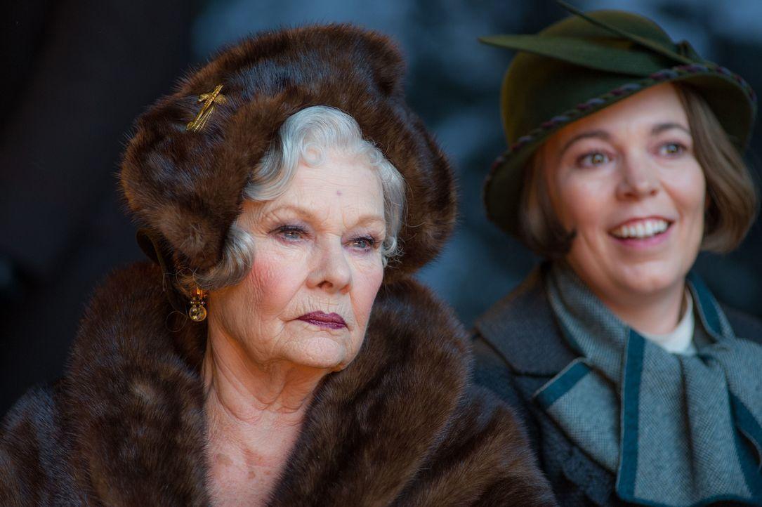 Princess Dragomiroff (Judi Dench, l.); Hildegarde Schmidt (Olivia Colman, r.) - Bildquelle: Nicola Dove 2017 Twentieth Century Fox Film Corporation. All rights reserved. / Nicola Dove