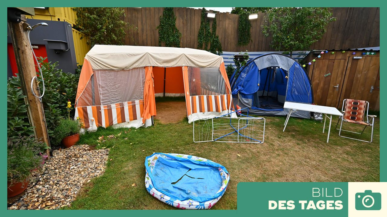 """Promi Big Brother"" 2019: Campingplatz - Bildquelle: SAT.1 / Willi Weber"