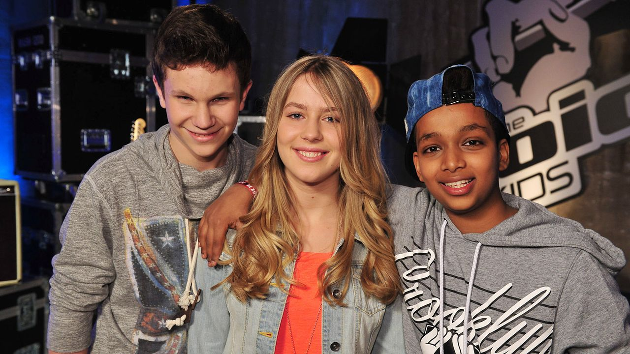The-Voice-Kids-Stf02-Epi05-Danyiom-Lukas-Michele-7-SAT1-Andre-Kowalski - Bildquelle: SAT.1/Andre Kowalski