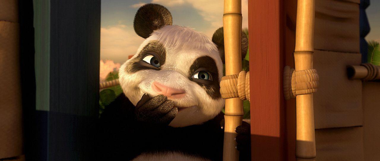 Zu seinem Geburtstag erhält Urmel, der pfiffige kleine Dinosaurier ein ganz besonderes Geschenk: Das tapsige, süße Pandamädchen Babu ... - Bildquelle: Constantin Film