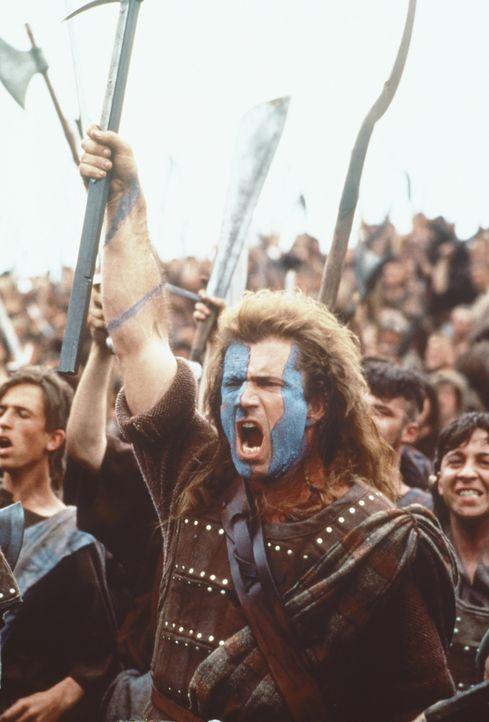 Die Schar um William Wallace (Mel Gibson) wird immer größer. Es kommt zum leidenschaftlichen Blutvergießen für die Freiheit Schottlands ... - Bildquelle: Paramount Pictures
