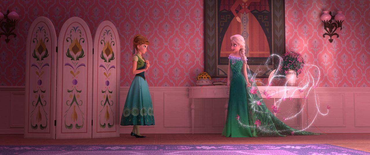 Anna (l.); Elsa (r.) - Bildquelle: Disney Enterprises, Inc.