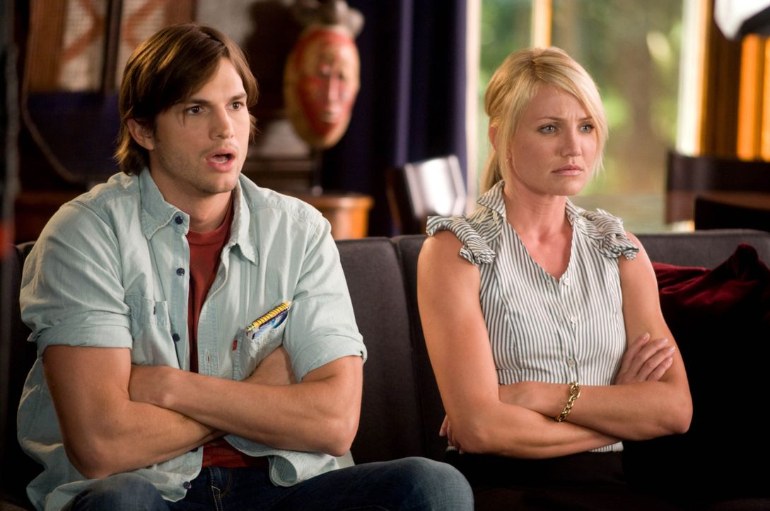 Jack Fuller (Ashton Kutcher, l.); Joy McNally (Cameron Diaz, r.) - Bildquelle: 2008 Twentieth Century Fox Film Corporation. All rights reserved.