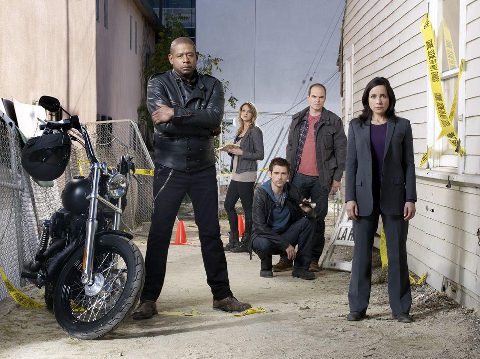 (1. Staffel) - Gemeinsam bringen sie jeden Täter zur Strecke: Sam Cooper (Forest Whitaker, l.), Gina LaSalle (Beau Garrett, 2.v.l.), Mick Rawson (M... - Bildquelle: © ABC Studios