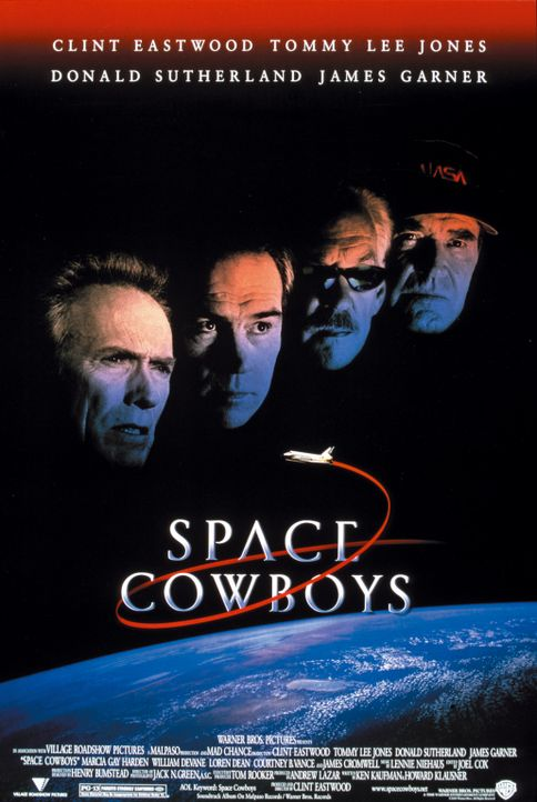 """Space Cowboys"" - Plakatmotive - Bildquelle: Warner Bros. Pictures"
