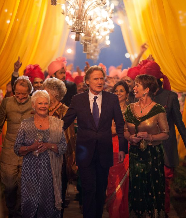 Der Tag der Hochzeit ist da. Für Evelyn (Judi Dench, l.), Douglas (Bill Nighy, M.) und Madge (Celia Imrie, r.) ist damit auch der Tag der Entscheidu... - Bildquelle: Laurie Sparham 2015 Twentieth Century Fox Film Corporation.  All rights reserved.