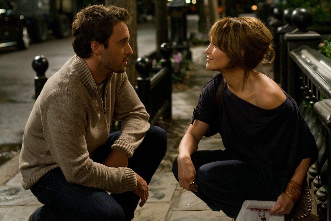 Zwischen Stan (Alex O'Loughlin, l.) und Zoe (Jennifer Lopez, r.) könnte alles so perfekt sein, wenn da nicht ein Kind von einem unbekannten Mann in... - Bildquelle: 2010 Concorde Filmverleih GmbH