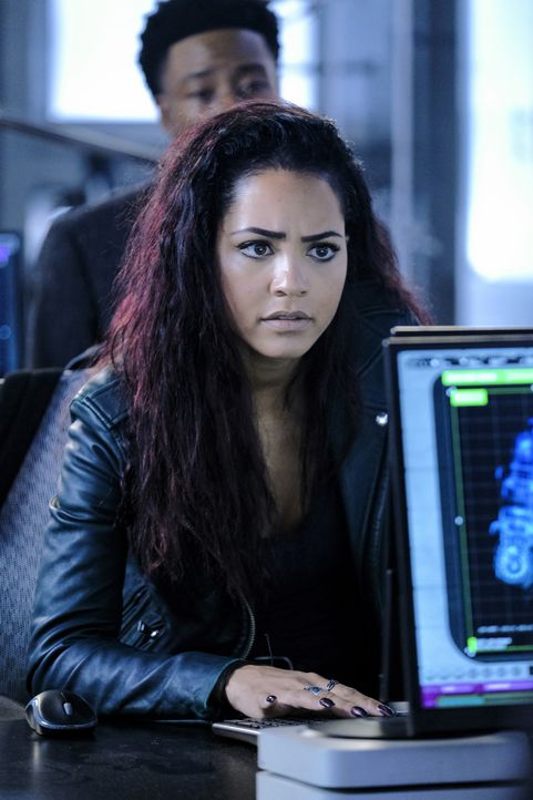 Riley Davis (Tristin Mays) - Bildquelle: Guy D'Alema 2020 CBS Broadcasting, Inc. All Rights Reserved / Guy D'Alema