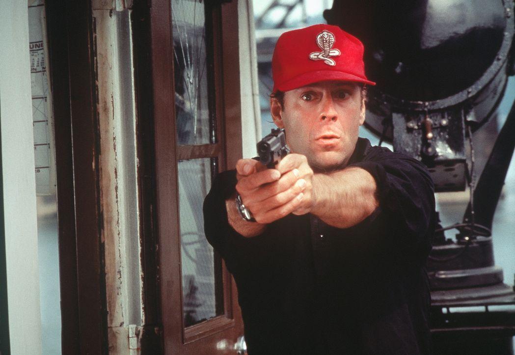 Auf der Jagd nach einem pathologischen Frauenmörder: Tom Hardy (Bruce Willis) ... - Bildquelle: Columbia Pictures