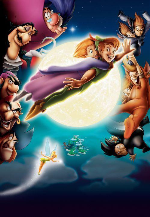 Auf Peter Pan und seine Getreuen warten wieder neue Abenteuer ... - Bildquelle: Disney