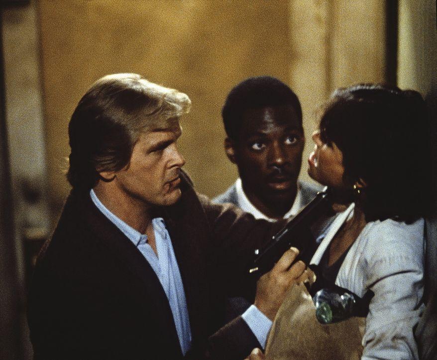Auf der Jagd nach dem gefährlichen Gangster Ganz gehen Jack (Nick Nolte, l.) und sein Hilfs-Polizist Partner Reggie (Eddie Murphy, M.) nicht gerade... - Bildquelle: Paramount Pictures