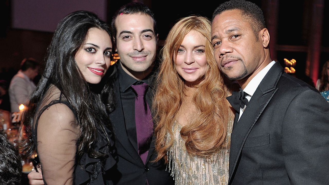 mfar-NY-Mohammed-Al-Turki-Lindsay-Lohan-Cuba-Gooding-13-02-06-Michael-Loccisano-Getty-Images-AFP - Bildquelle: Michael Loccisano/Getty Images for Mercedes-Benz Fashion Week/AFP