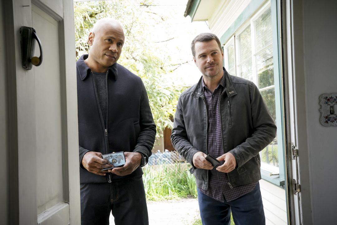 Sam Hanna (LL Cool J, l.); G. Callen (Chris O'Donnell, r.) - Bildquelle: Bill Inoshita 2019 CBS Broadcasting, Inc. All Rights Reserved / Bill Inoshita