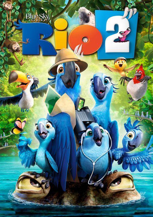 RIO 2 - DSCHUNGELFIEBER - Plakatmotiv - Bildquelle: 2014 Twentieth Century Fox Film Corporation.  All rights reserved.