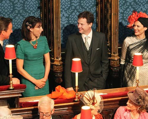 William-Kate-Westminster-Abbey-David-Cameron-Nick-Clegg-11-04-29-500_404_AFP - Bildquelle: AFP