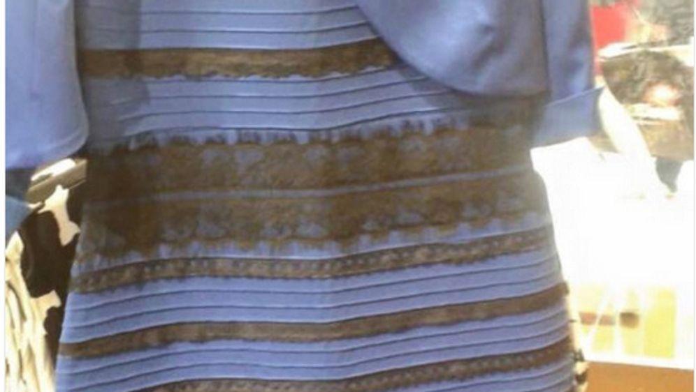 - Bildquelle: Tumblr User swike hat dieses Kleid hochgeladen und eine Debatte ausgelöst.