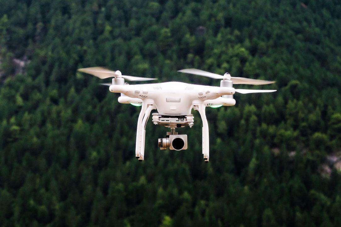 Drohnen fliegen momentan über ein eigenes WLAN-Netz. Das macht sie störungsa... - Bildquelle: SAT.1 CH