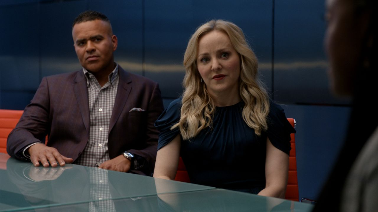 Chunk Palmer (Christopher Jackson, l.); Marissa Morgan (Geneva Carr, r.) - Bildquelle: 2019 CBS Broadcasting, Inc. All Rights Reserved