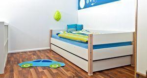 Auch eine schöne Idee für die Kinderzimmer-Wandgestaltung: eine Bordüre mit W...