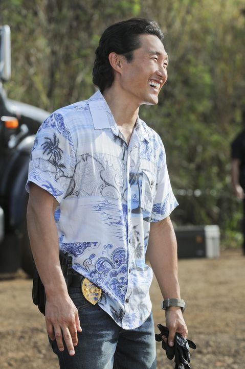 Hat es mit einem neuen Mordfall zu tun: Chin (Daniel Dae Kim) ... - Bildquelle: TM &   CBS Studios Inc. All Rights Reserved.