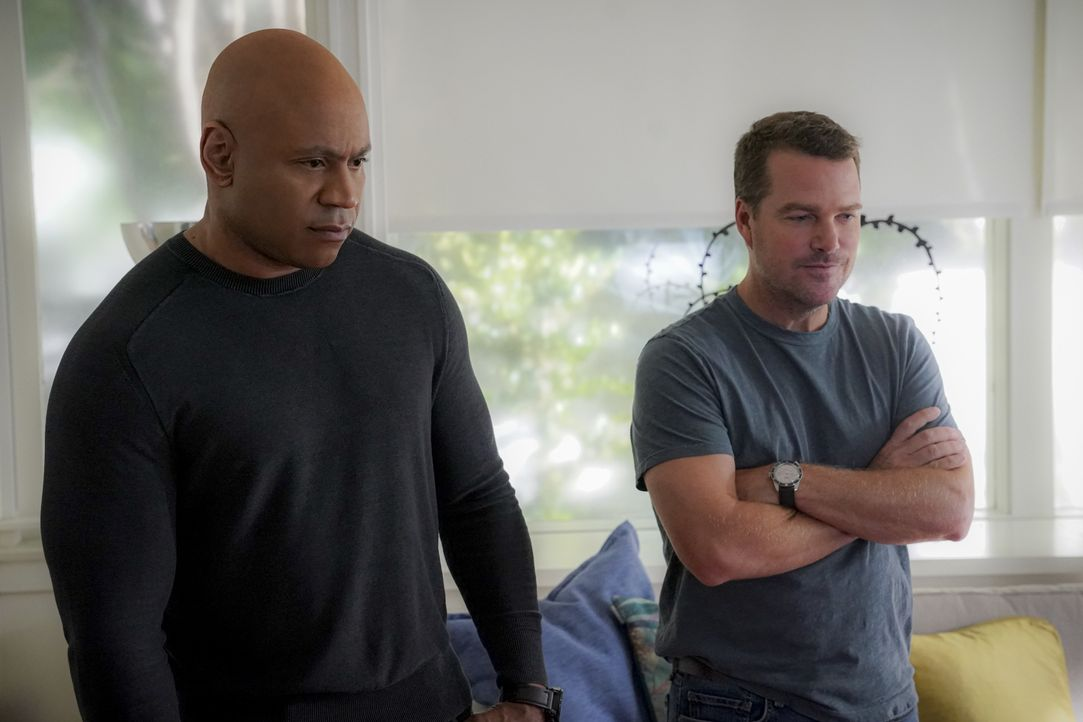 Sam Hanna (LL Cool J, l.); G. Callen (Chris O'Donnell, r.) - Bildquelle: Monty Brinton 2019 CBS Broadcasting, Inc. All Rights Reserved. / Monty Brinton