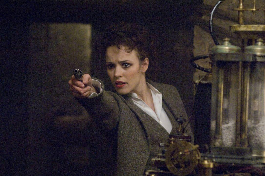 Steht auch auf Lord Blackwoods Todesliste: Irene (Rachel McAdams) ... - Bildquelle: Warner Brothers