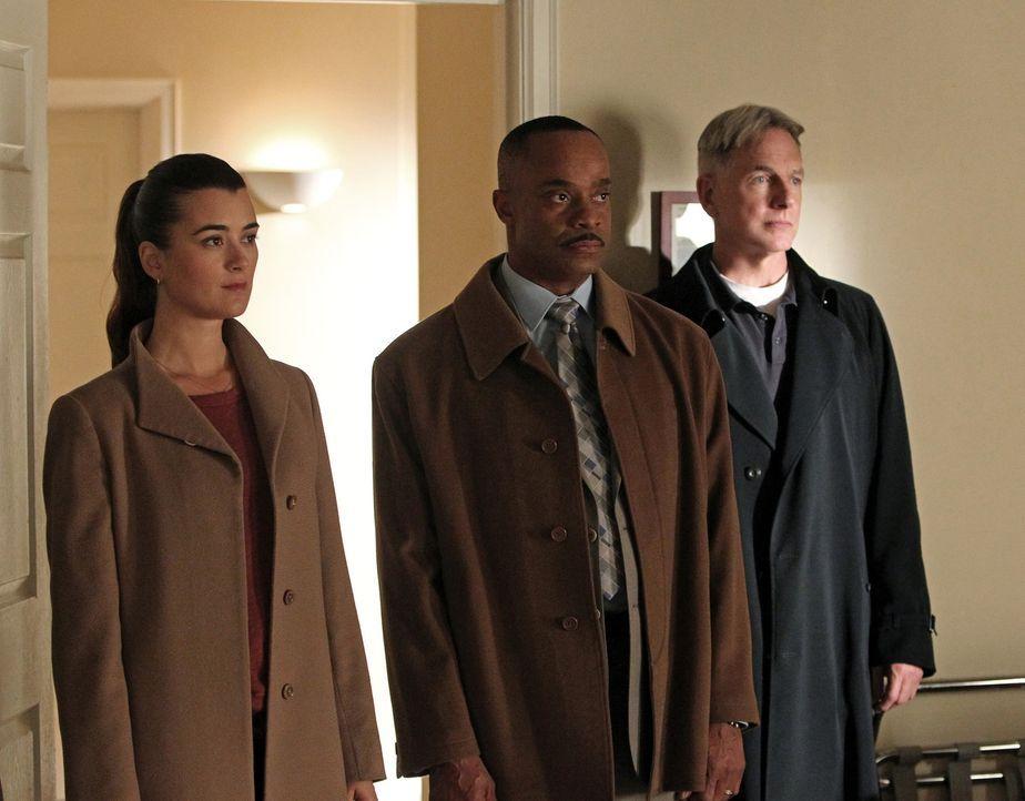 Ein neuer Fall beschäftigt Gibbs (Mark Harmon, r.), Ziva (Cote de Pablo, l.) und Vance (Rocky Carroll, M.) ... - Bildquelle: CBS Television