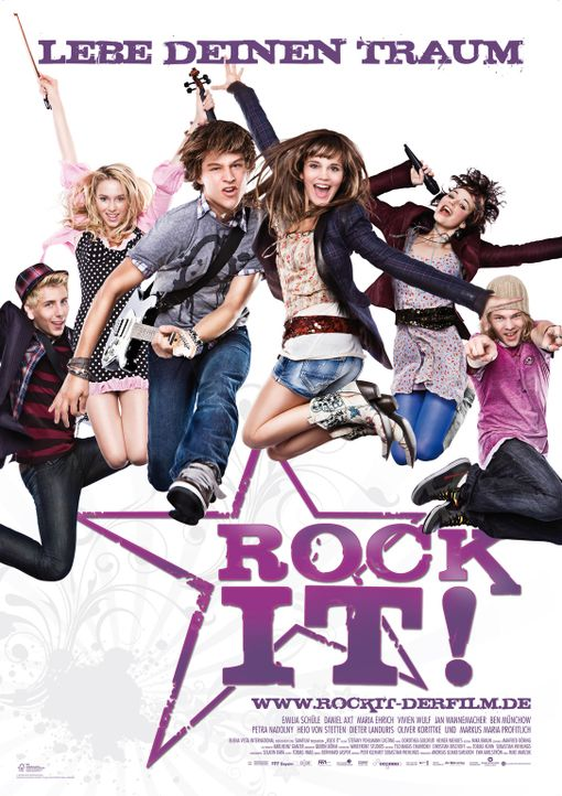 ROCK IT! - Plakat - Bildquelle: Buena Vista International