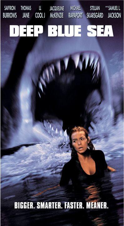 Deep Blue Sea - Plakatmotiv - Bildquelle: Warner Bros. Pictures