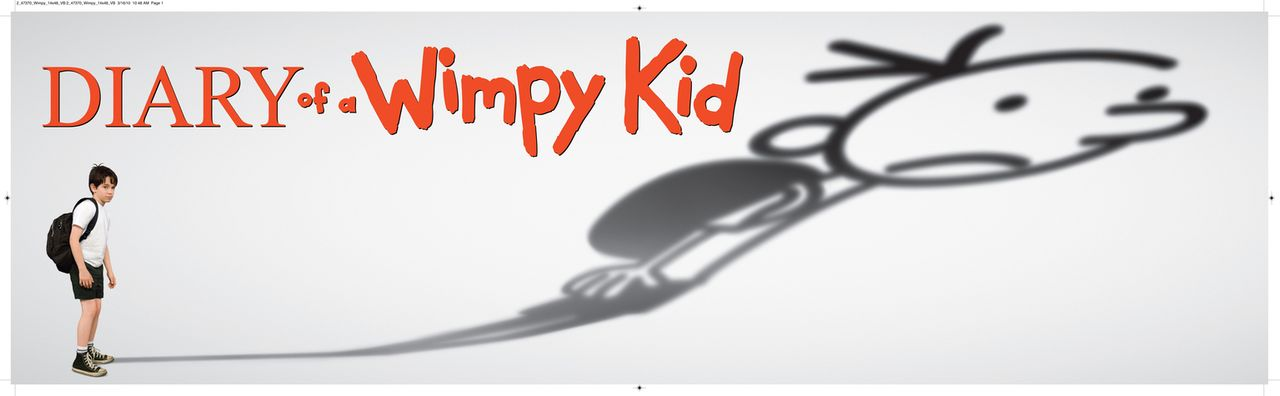 GREGS TAGEBUCH - VON IDIOTEN UMZINGELT! - Logo - Bildquelle: 2010 Twentieth Century Fox Film Corporation. All rights reserved. DIARY OF A WIMPY KID, WIMPY KID and Greg Heffley image are trademarks of W