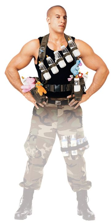 Schon bald kämpft Shane (Vin Diesel) an zwei Fronten: gegen das Böse in der Welt und gegen das Chaos im Haus. Und als er merkt, dass Babysitting k... - Bildquelle: Walt Disney Pictures, Spyglass Entertainment. All Rights Reserved