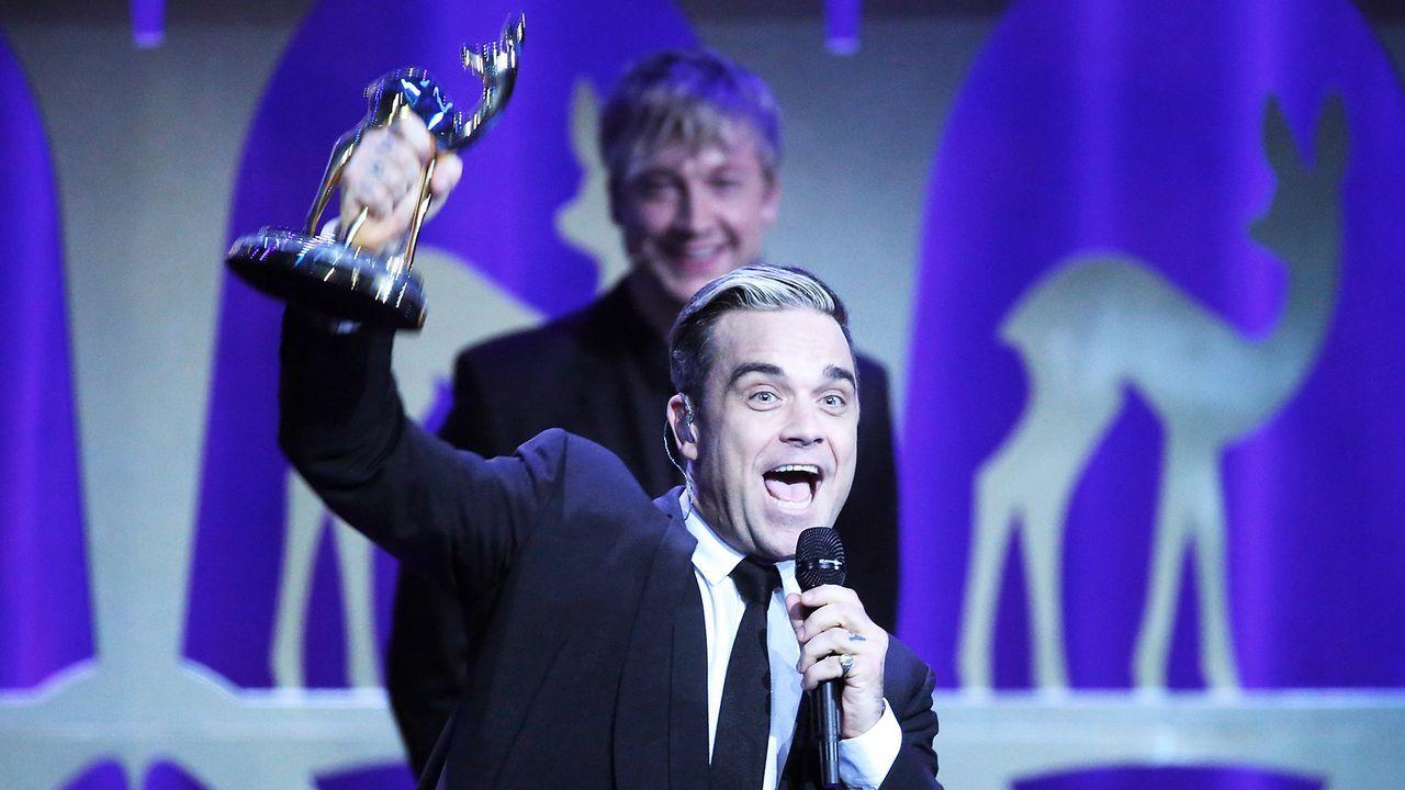 Bambi-Robbie-Williams-13-11-14-dpa - Bildquelle: dpa