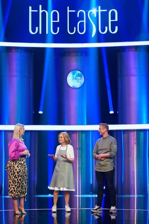 (v.l.n.r.) Angelina Kirsch; Johanna Maier; Didi Maier - Bildquelle: Jens Hartmann SAT.1 / Jens Hartmann