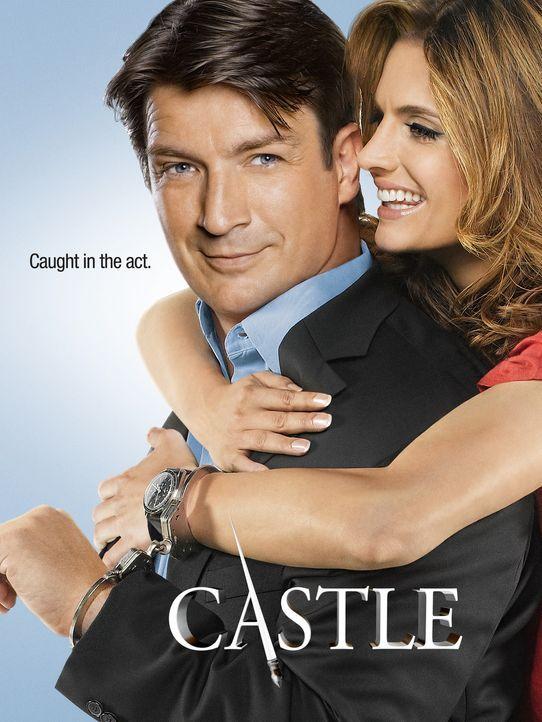 (5. Staffel) - Können weder mit noch ohne einander: Richard Castle (Nathan Fillion, l.) und Kate Beckett (Stana Katic, r.) - Bildquelle: ABC Studios