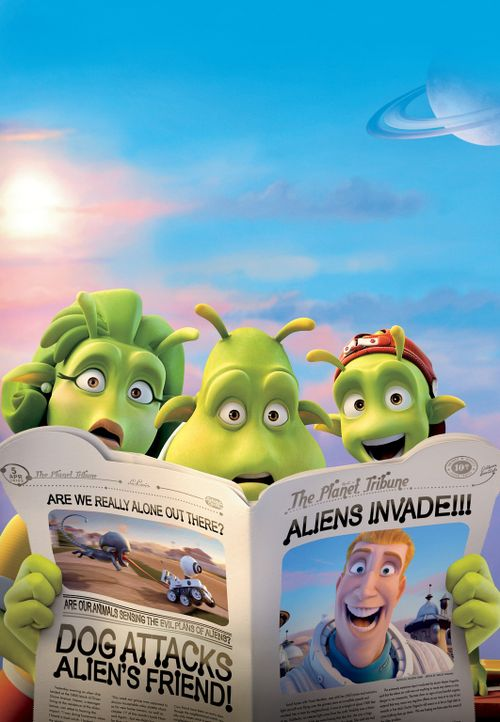 Planet 51! Etwas seltsames landet auf ihrem Planeten? Wir! - Bildquelle: 2009 Columbia TriStar Marketing Group, Inc.  All Rights Reserved.