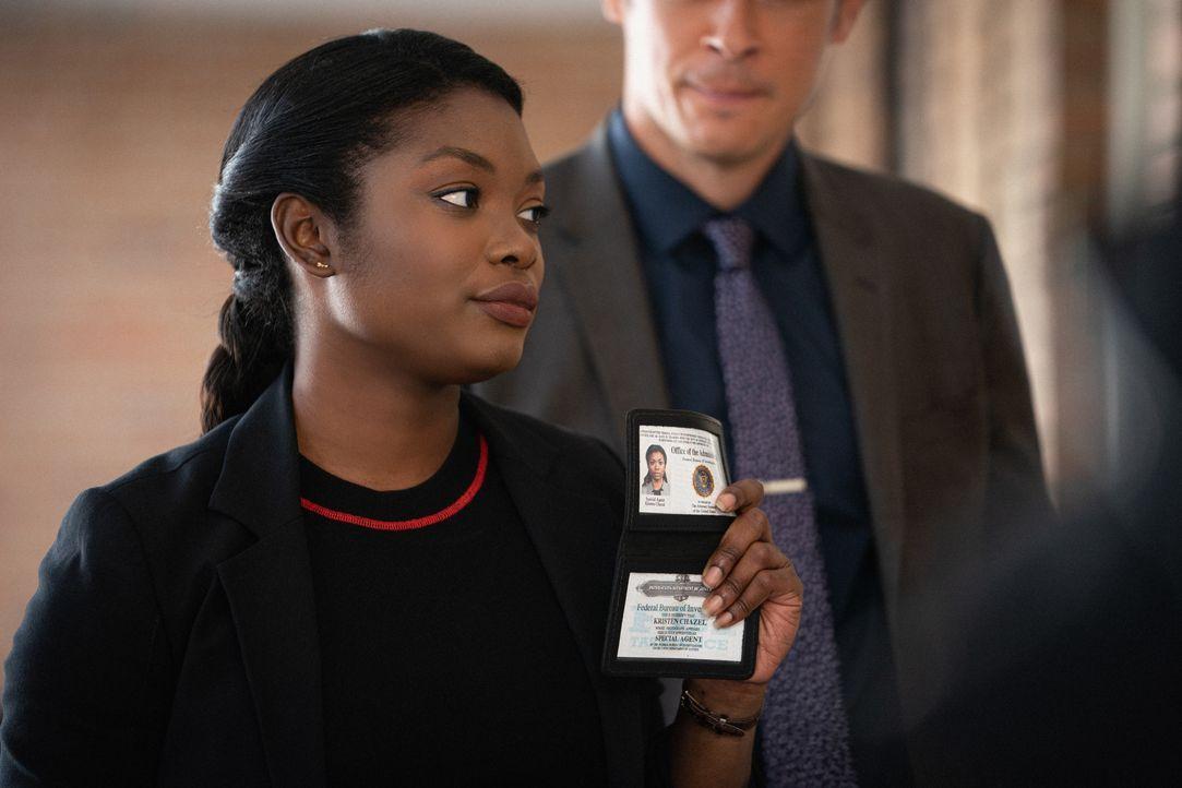 Special Agent Kristen Chazal (Ebonée Noel) - Bildquelle: Mark Schafer 2019 CBS Broadcasting, Inc. All Rights Reserved / Mark Schafer