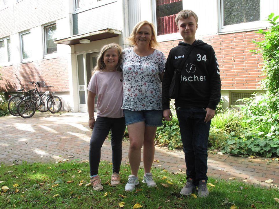 (v.l.n.r.) Lenja; Katharina Mischefski; Conner - Bildquelle: SAT.1