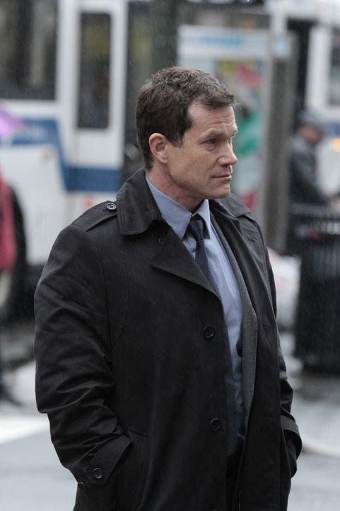 Bei den Ermittlungen in einem neuen Mordfall, trifft Detective Al Burns (Dylan Walsh) auf seine Ex-Freundin Carrie Wells ... - Bildquelle: Sony Pictures Television Inc. All Rights Reserved.