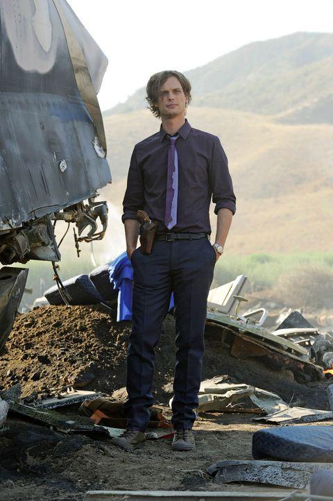 Sucht, nach Hinweisen, die zu einem Flugzeugabsturz in Colorado geführt haben: Reid (Matthew Gray Gubler) ... - Bildquelle: Colleen Hayes ABC Studios