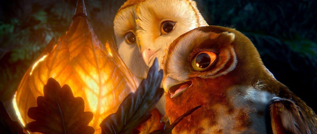 In einer tollkühnen Befreiungsaktion gelingt Soren (l.) zusammen mit Elfenkäuzin Gylfie (r.) die Flucht aus den Fängen der Reinsten - doch wo sind s... - Bildquelle: Warner Brothers