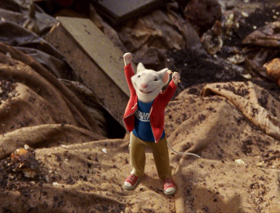 Stuart Little, die aberwitzige Maus, macht sich auf die Suche nach einem verschwundenen Freund, den Vogel Margalo ... - Bildquelle: 2003 Sony Pictures Television International. All Rights Reserved.