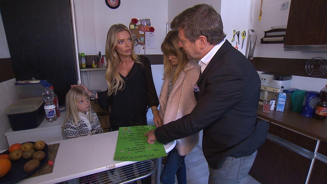 Familie Bösch tauscht für eine Woche ihr Haus, ihr Leben und ihr wöchentliches Budget gegen das einer Familie mit absolut gegensätzlichem Einkommen.... - Bildquelle: SAT.1